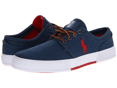 Polo Ralph Lauren - Faxon Low (Newport Navy/RL2000 Red) Men