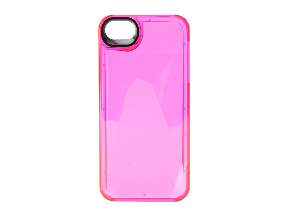 Marc by Marc Jacobs - Metallic Faceted Phone Case for iPhone 5 and 5s (Pop Pink) Cell Phone Case