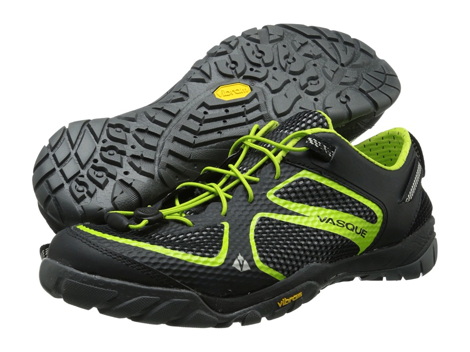 Vasque - Lotic (Jet Black/Lime Green) Men's Shoes