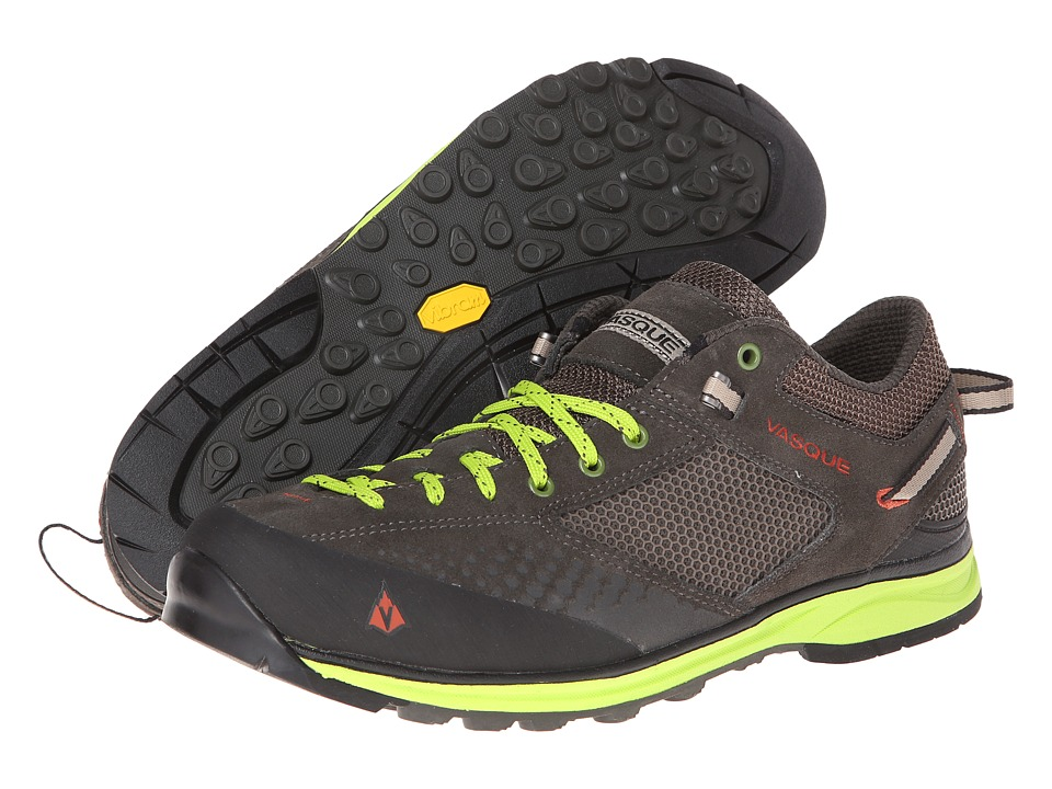 Vasque - Grand Traverse (Beluga/Bungee Cord/Lime Green) Men's Shoes