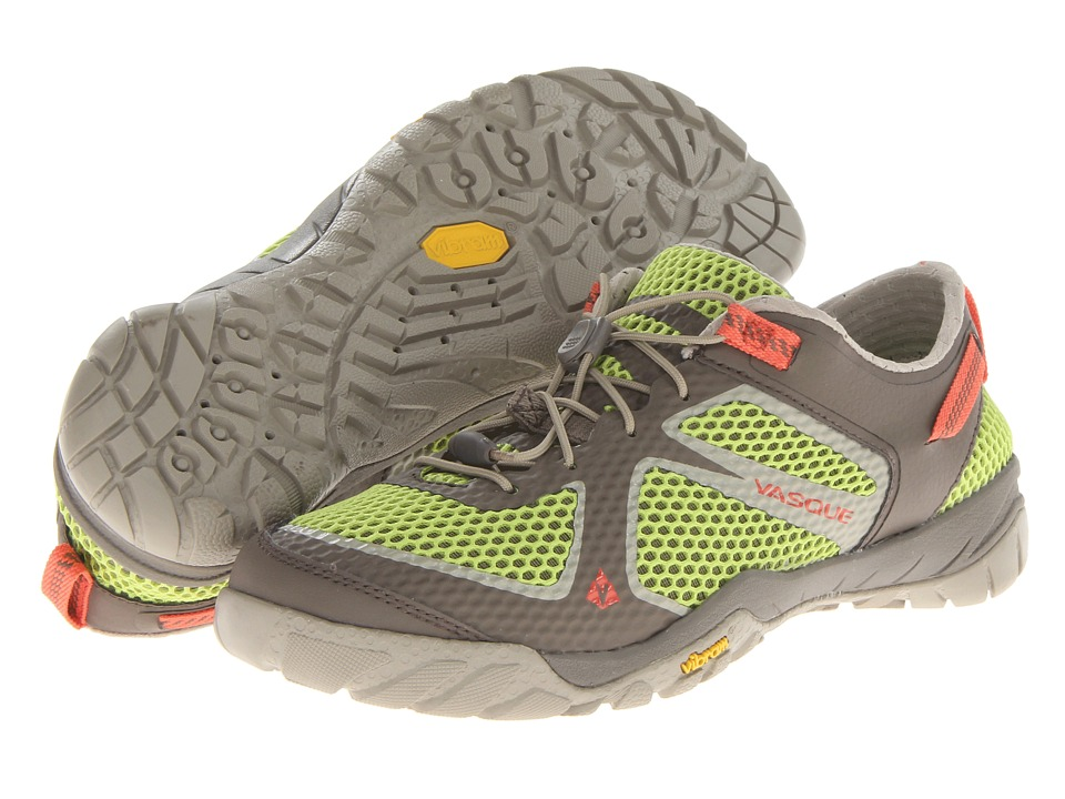 Vasque - Lotic (Lime Green/Bungee Cord/Hot Coral) Women's Shoes