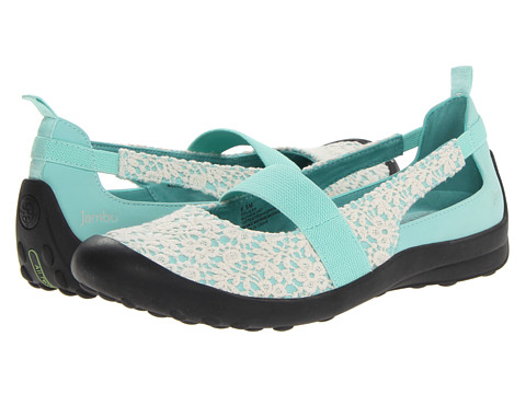 Jambu - Delilah (Tiffany Blue/Ivory) Women's Shoes