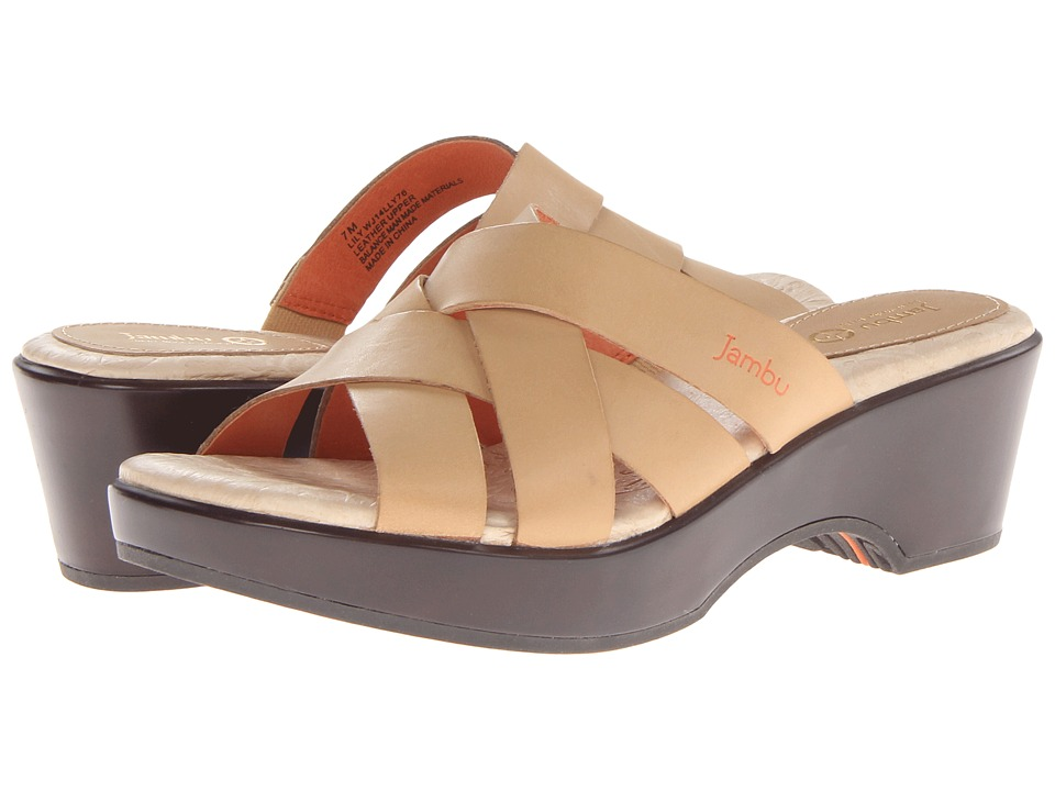 Jambu - Lily (Nude) Women's Sandals