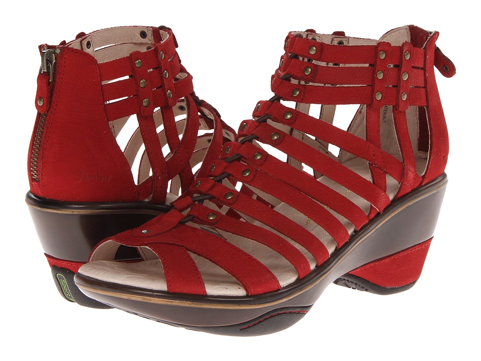Jambu - Sugar (Red) Women's Sandals