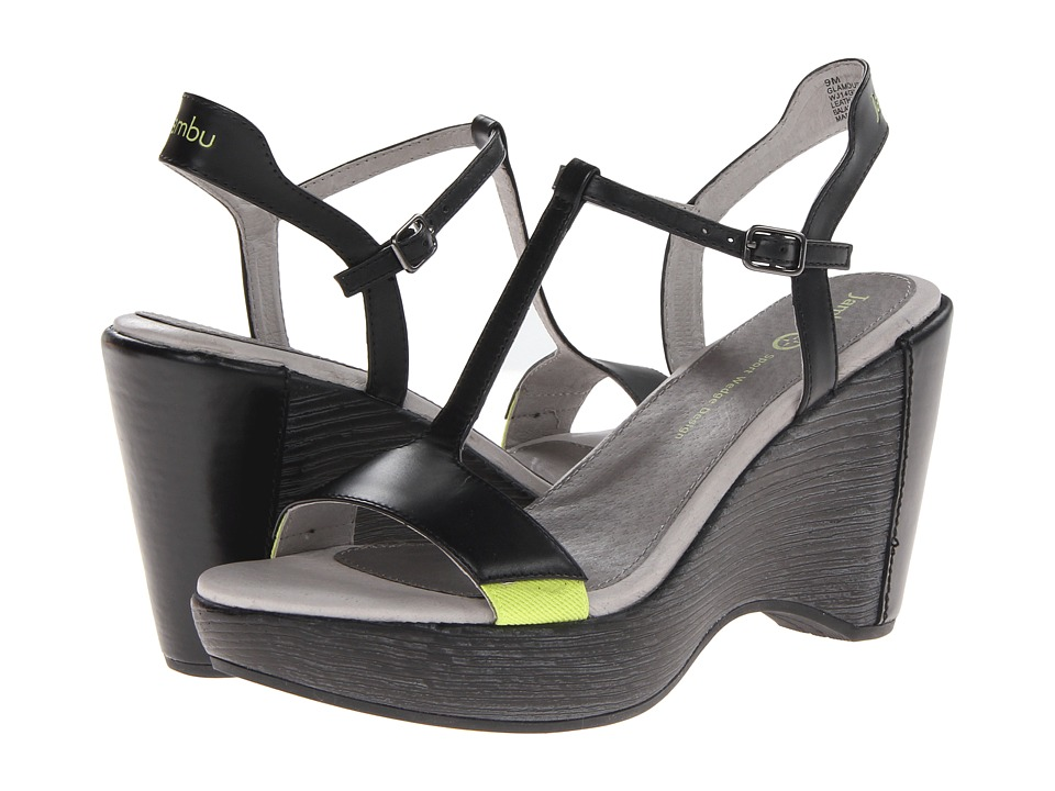 Jambu - Glamour (Black) Women's Wedge Shoes