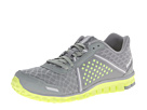 Reebok Realflex Scream 4.0 (Flat Grey/Neon Yellow/Pure Silver/White) Women's Running Shoes