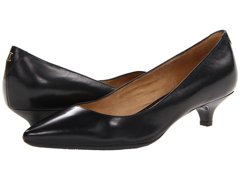 Isaac Mizrahi New York - Gabriel 3 (Black Leather) Women's 1-2 inch heel Shoes