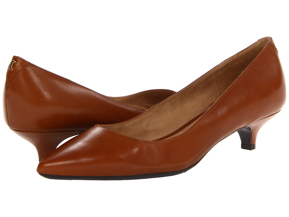 Isaac Mizrahi New York - Gabriel 3 (Cognac Leather) Women's 1-2 inch heel Shoes