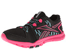 Reebok Yourflex Trainette RS 4.0 (Black/Pink Fusion/Hydro Blue/White) Women's Cross Training Shoes