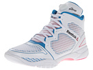 Reebok Studio Pump 25th (White/Conrad Blue/Pink Fusion) Women's Basketball Shoes