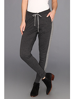 SALE! $44.99 - Save $43 on Chaser Contrast Slouchy Pant (Black) Apparel - 48.87% OFF $88.00
