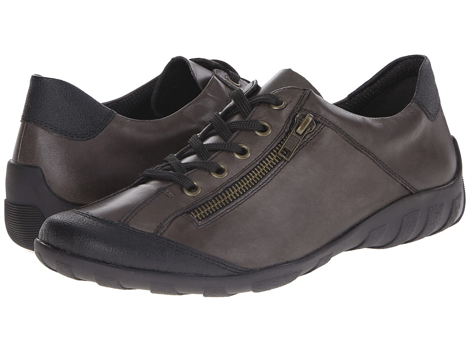 Rieker - R3421 Liv 21 (Graphite) Women's Lace up casual Shoes
