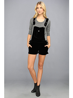 SALE! $89.99 - Save $108 on Townsen Velvet Overalls (Black) Apparel - 54.55% OFF $198.00