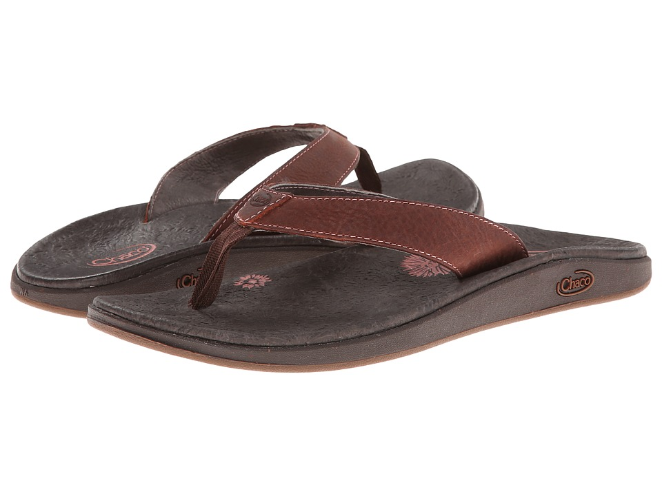 Chaco - Jacy Flip (Burnt Coral) Women