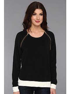 SALE! $51.99 - Save $91 on Townsen Swift Fleece Pullover (Black White) Apparel - 63.64% OFF $143.00