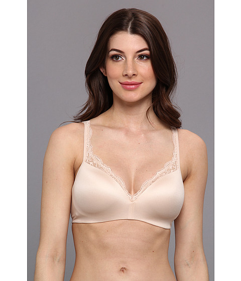 DKNY Intimates - Signature Skin Seamless Wirefree Bra 456231 (Pretty Nude) Women