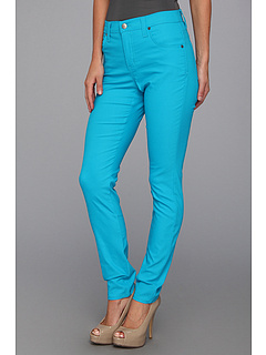 SALE! $34.99 - Save $73 on Karen Kane Twill Skinny Jean (Turquoise) Apparel - 67.60% OFF $108.00
