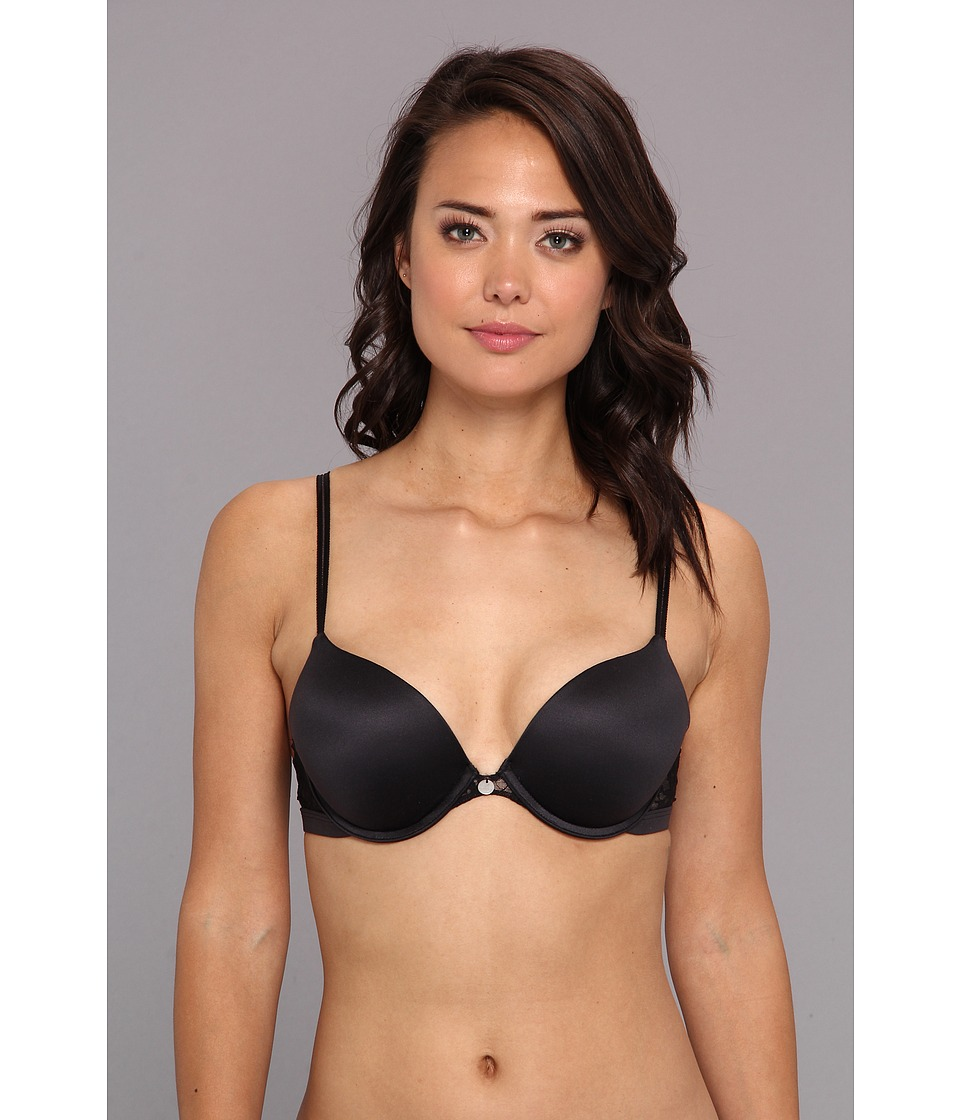 DKNY Intimates - Signature Lace Maximizer T-Shirt Bra 453000 (Black/Pretty Nude) Women's Bra