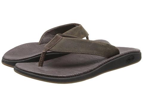 Chaco - Nikolai Flip (Chocolate Brown) Men's Shoes