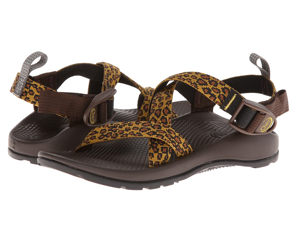 Chaco Kids - Z/1 Ecotread (Toddler/Little Kid/Big Kid) (Leopard) Girls Shoes