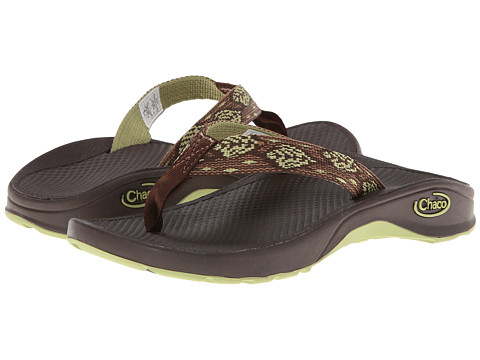 Chaco Kids - Bit-O-Flip Ecotread (Toddler/Little Kid/Big Kid) (Leaf Vines) Kids Shoes