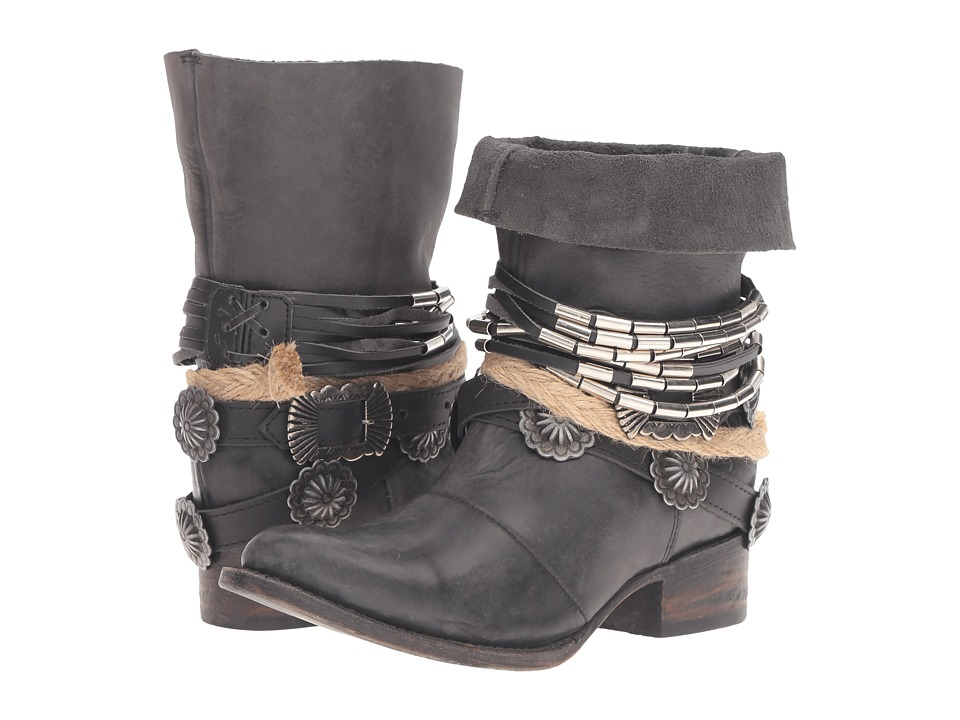Freebird - Yerba (Black) Women's Boots
