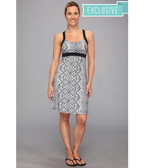 Prana - Amaya Dress (Black Bali) Women's Dress