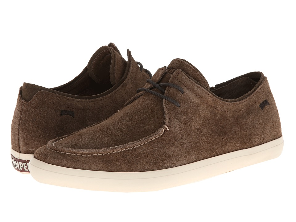 Camper - Motel - 18831 (Dark Beige) Men's Lace up casual Shoes