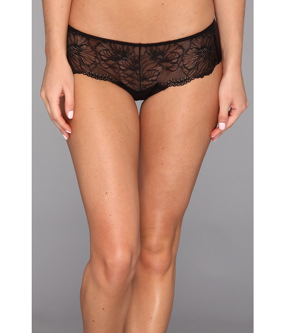 Natori - Bliss Bloom Girl Brief (Black) Women's Underwear