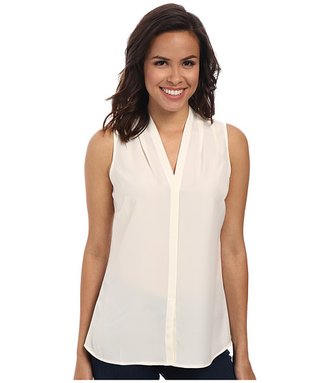 NIC+ZOE - Day To Night Top (Bone 3) Women's Blouse