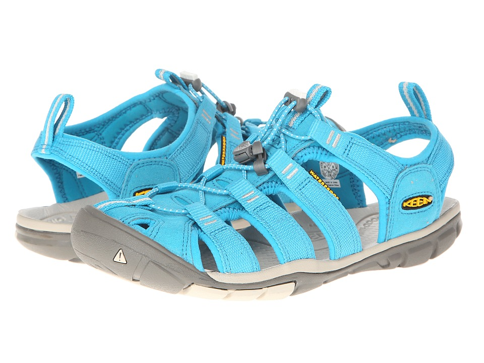 Keen - Clearwater CNX (Caribbean Sea/Pumice Stone) Women's Shoes