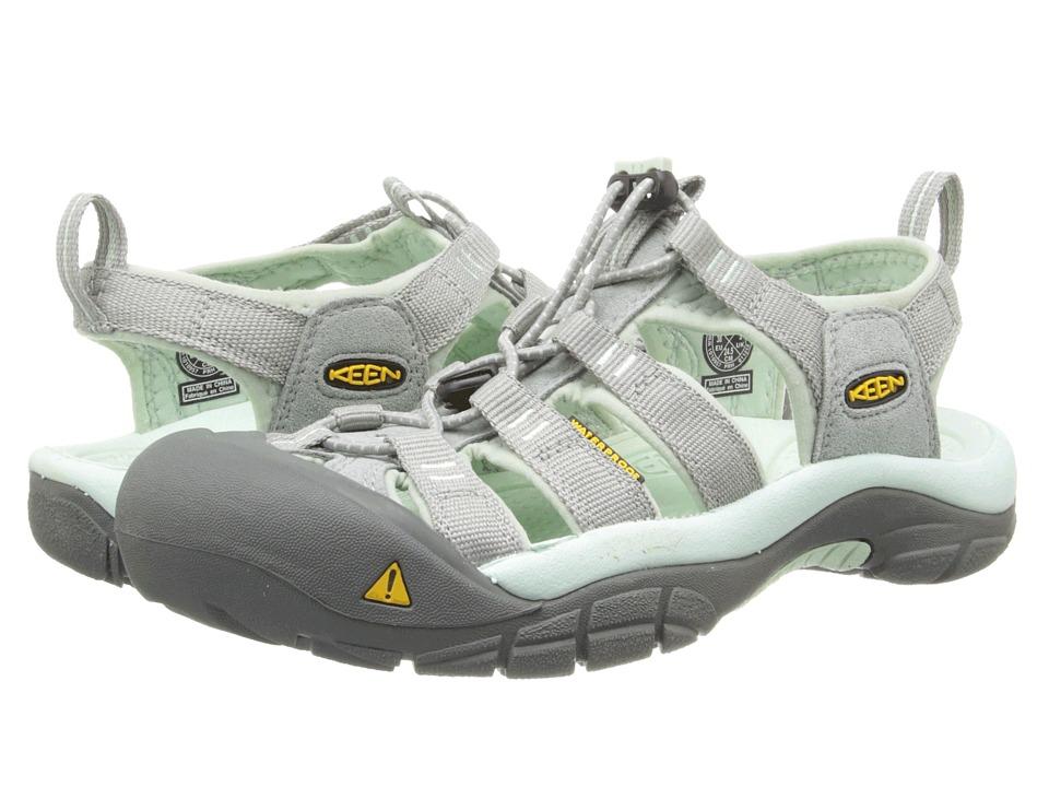 Keen - Newport H2 (Neutral Gray/Misty Jade) Women's Shoes