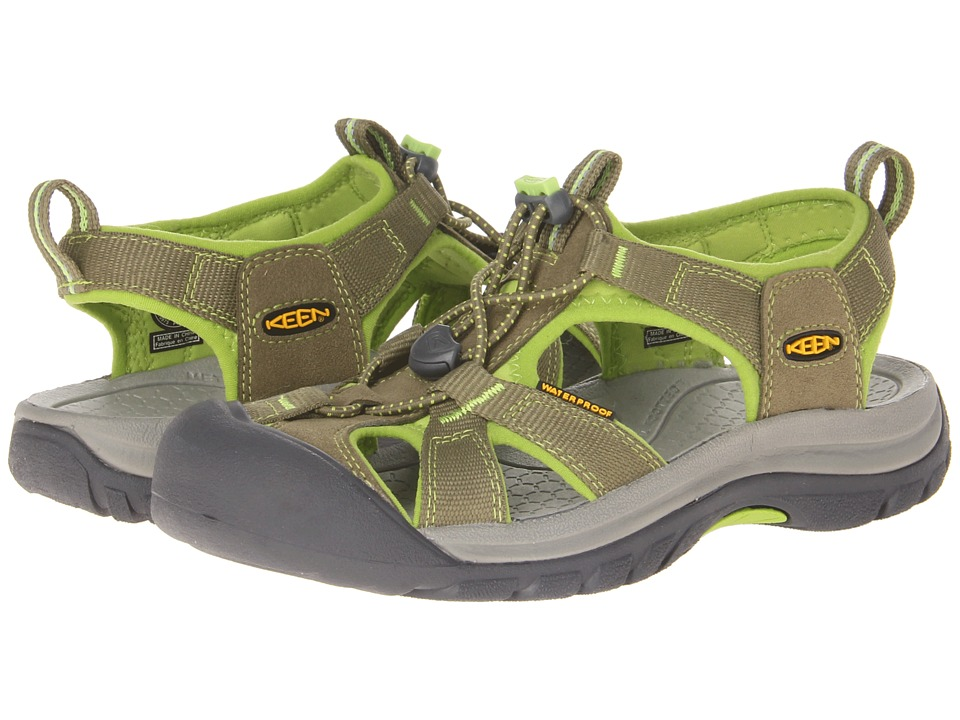 Keen - Venice H2 (Burnt Olive/Lime Green) Women's Sandals