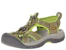 Keen Venice H2 (Burnt Olive/Lime Green) Women's Sandals