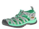 Keen Whisper (Neutral Gray/Irish Green) Women's Sandals