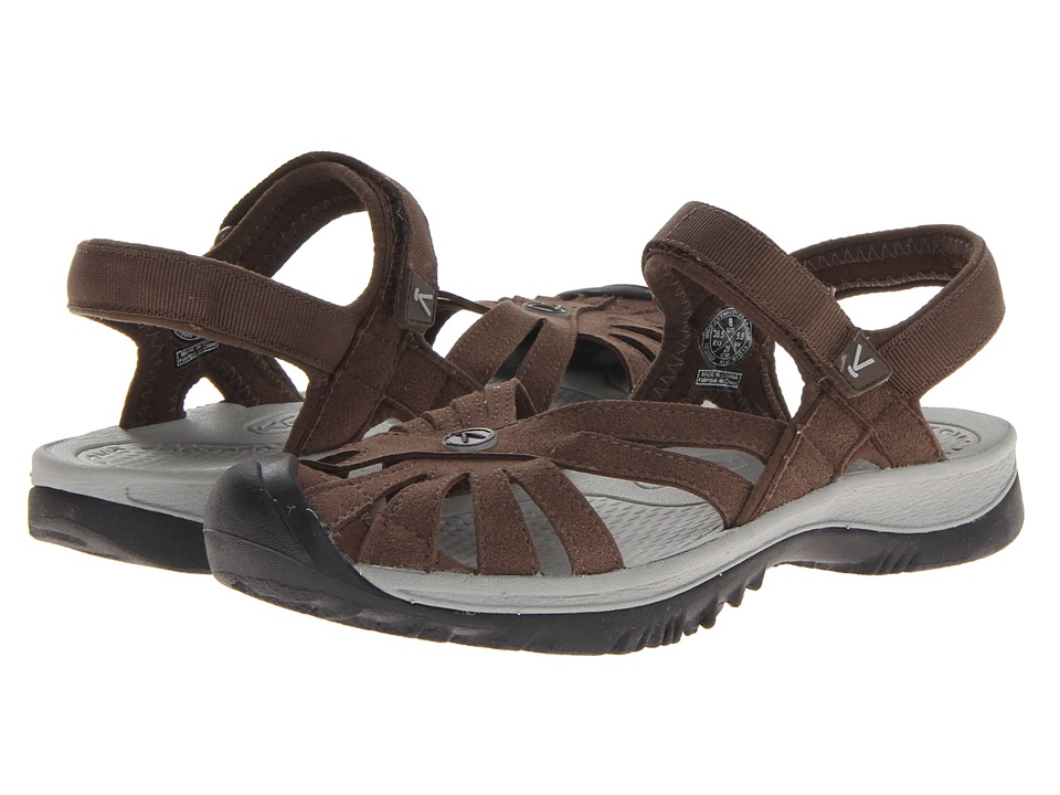 Keen Rose Sandal (Cascade Brown/Neutral Gray) Women