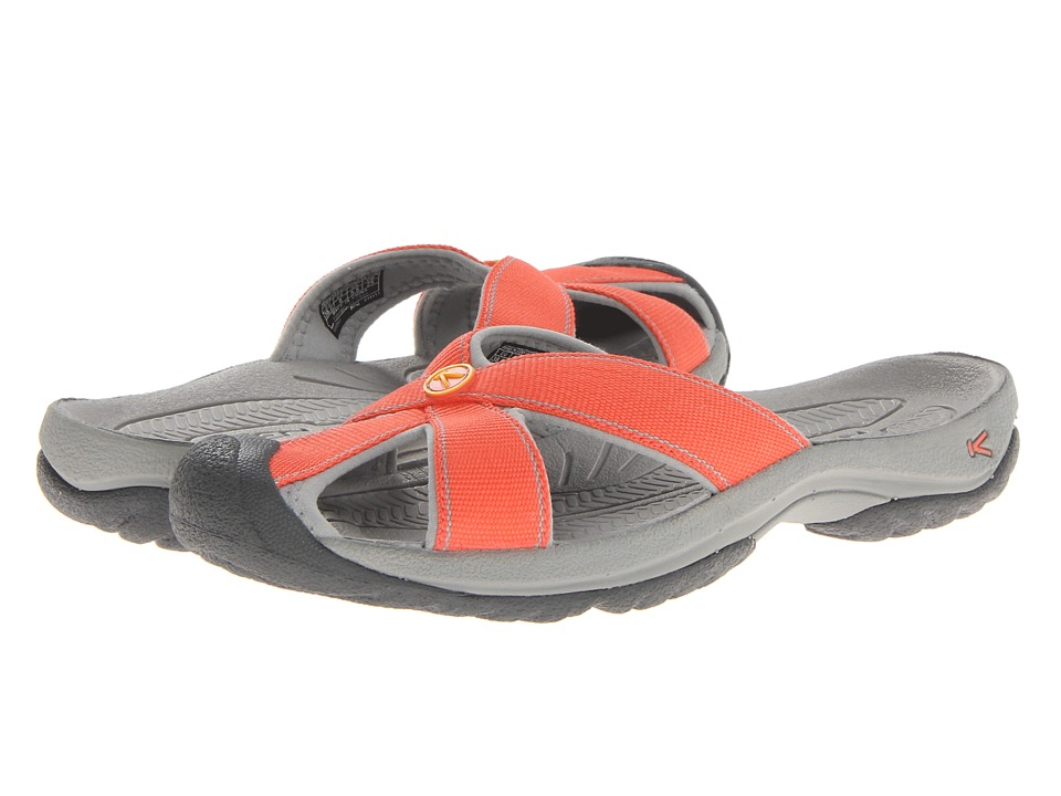 Keen - Bali (Hot Coral/Neutral Gray) Women's Shoes