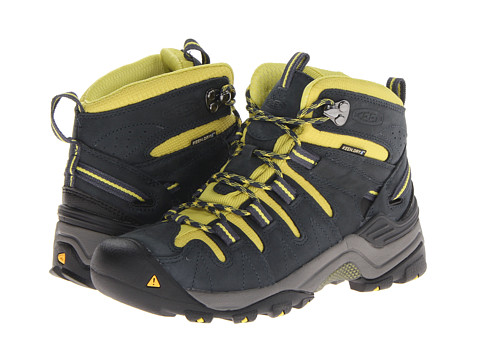 Keen - Gypsum Mid (Midnight Navy/Green) Women's Hiking Boots
