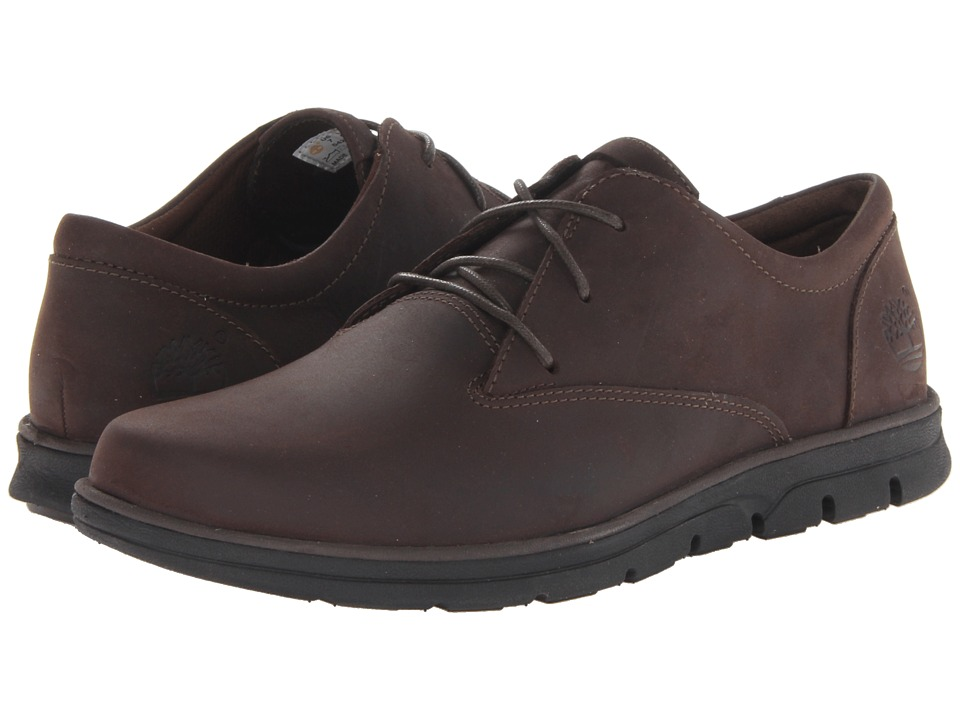 Timberland - Earthkeepers Bradstreet Plain Toe Oxford (Dark Brown Oiled) Men's Shoes
