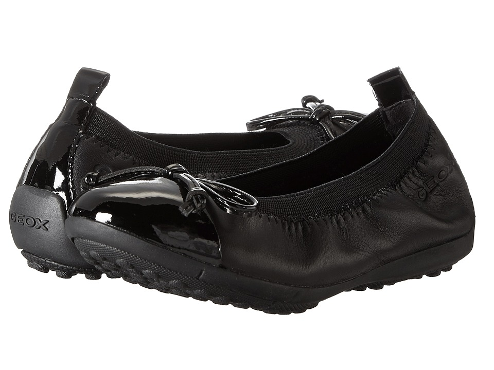 Geox Kids - Jr Pima 22 (Toddler/Little Kid) (Black) Girls Shoes
