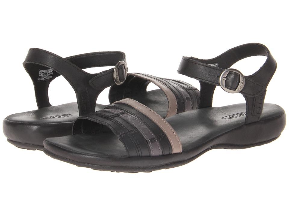 Keen - Emerald City Ankle II (Black/Neutral Gray) Women's Sandals