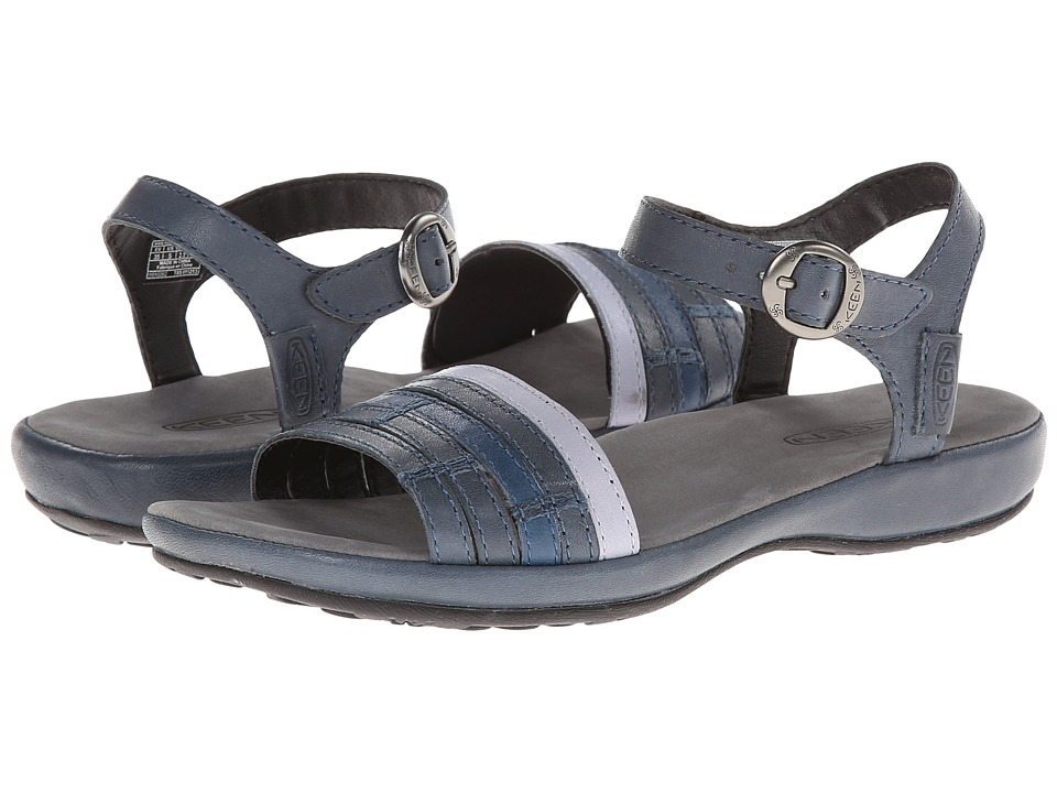 Keen - Emerald City Ankle II (Midnight Navy/Eventide) Women's Sandals