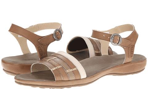 Keen - Emerald City Ankle II (Shitake/Pumice Stone) Women's Sandals