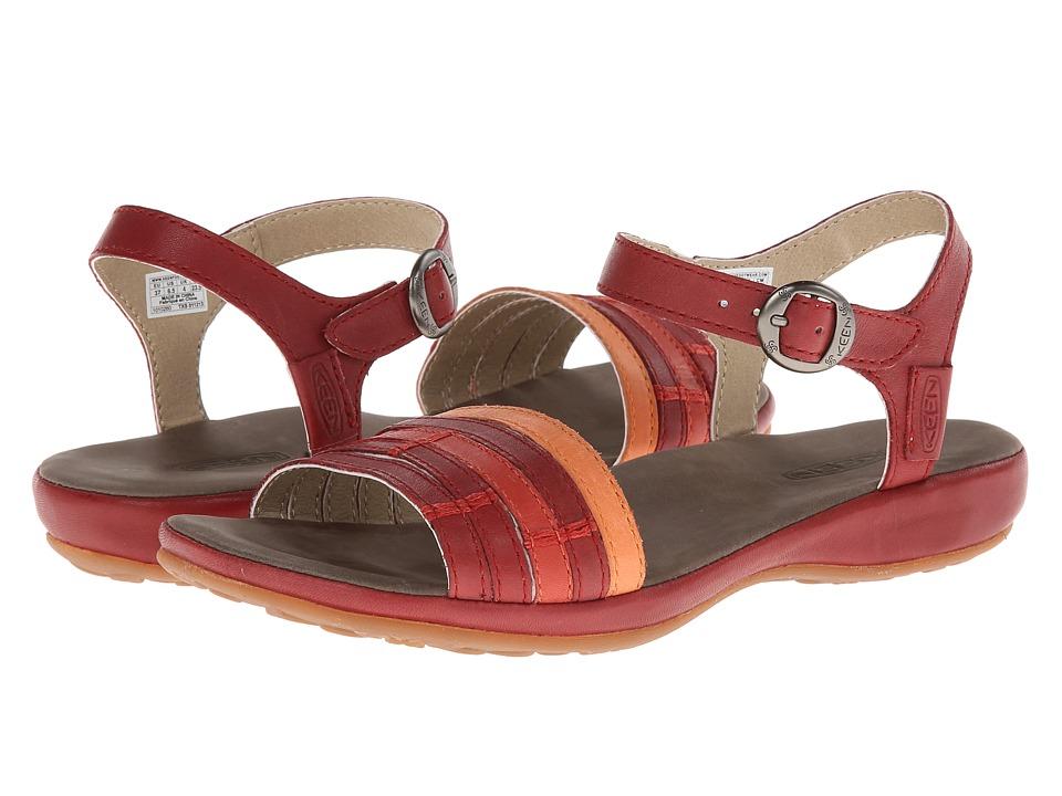 Keen - Emerald City Ankle II (Burnt Henna/Melon) Women's Sandals