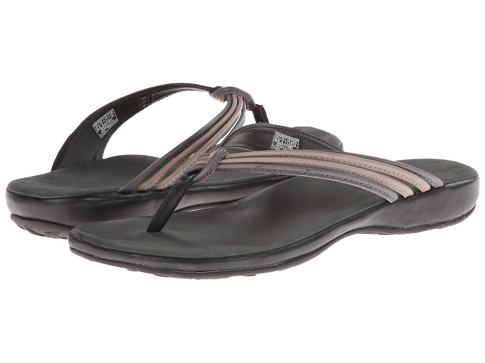Keen - Emerald City Flip II (Black/Neutral Gray) Women's Sandals