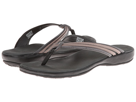 Keen - Emerald City Flip II (Black/Neutral Gray) Women's Sandals