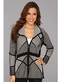 SALE! $59.99 - Save $138 on NIC ZOE Smoke Mirrors Cardy (Multi) Apparel - 69.70% OFF $198.00