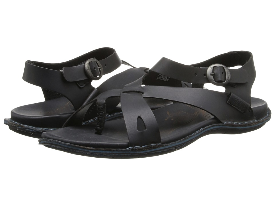 Keen - Alman Ankle (Black) Women's Sandals