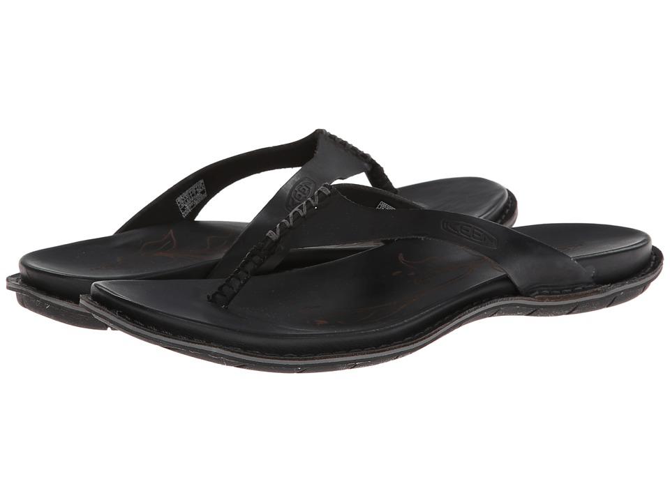 Keen - Alman Flip (Black) Women's Sandals