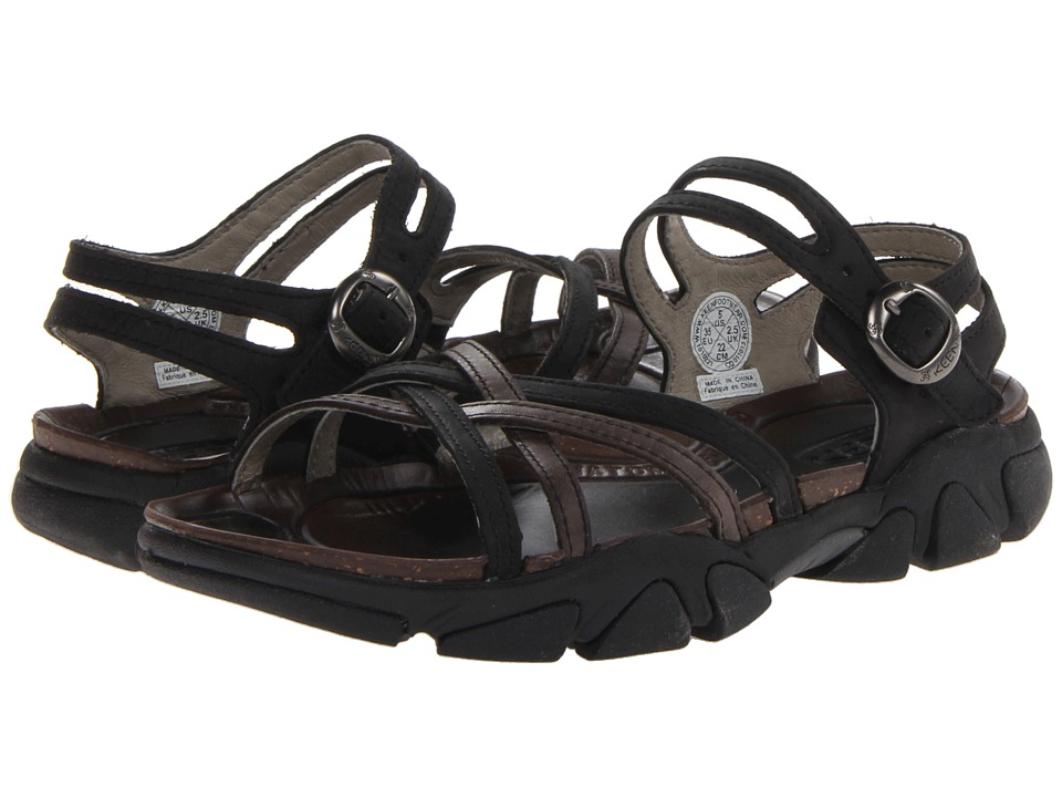 Keen Naples (Black/Gargoyle) Women